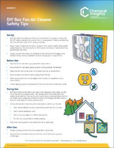 Thumbnail for DIY Box Fan Air Cleaner Safety Tips